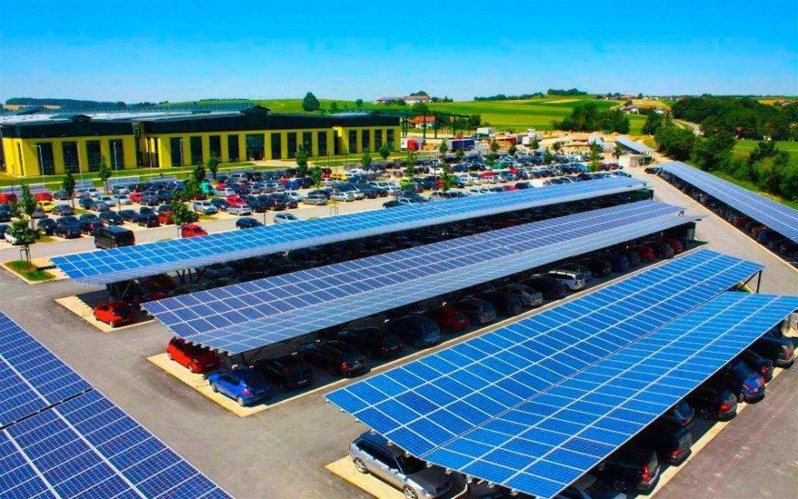 Solar-Car-Parking