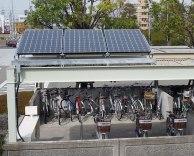 solar parkeren voor fietsen