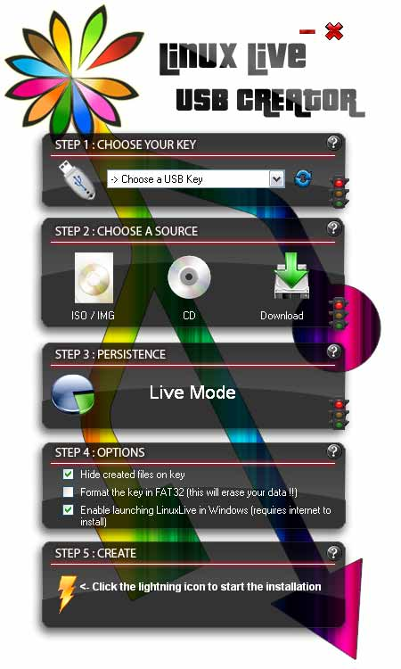 Live-Linux-USB-Creator
